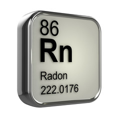 3d Periodic Table - 86 Radon