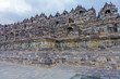 Ancient Borobudur Buddhist Temple