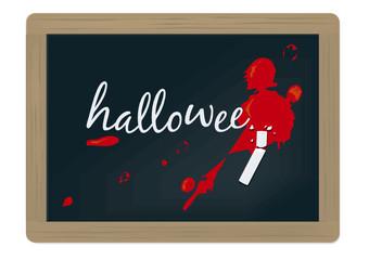 ardoise halloween