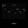 voeux texte fond noir 2013