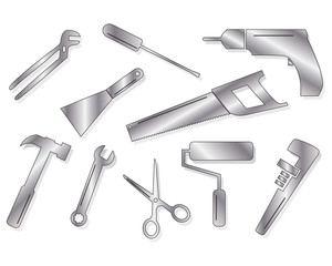 Ten tool shapes