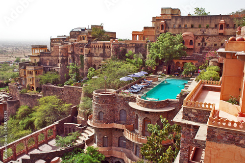 Neemrana Fort Palace, Rajasthan, India