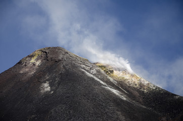 Summit of Mount Etna