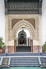 Cour de la Mosquée de Paris