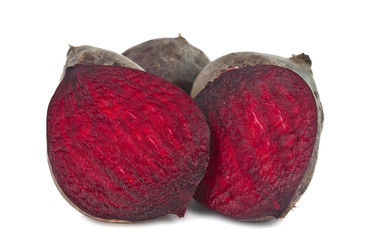 Red beet isolated