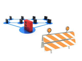 under construction network