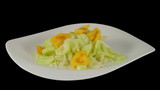 Vegetable salad cooking