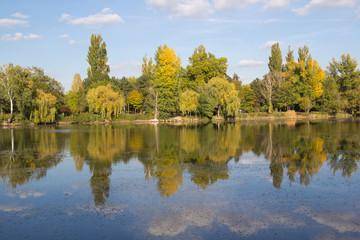 Herbst an der Alten Donau/Wien