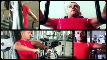 chest machine exercises