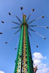 Swinging carousel in Vienna