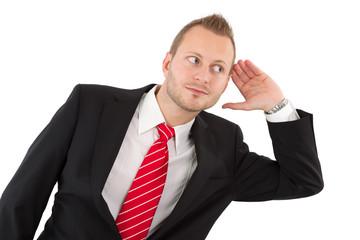 Ein Manager mit offenem Ohr