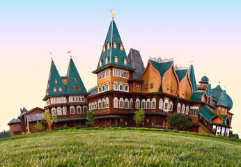 A wooden residence of the Russian Tsars