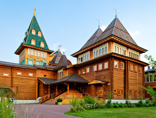 Mansion of russian tsars