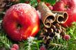 Äpfel ,Weihnachten