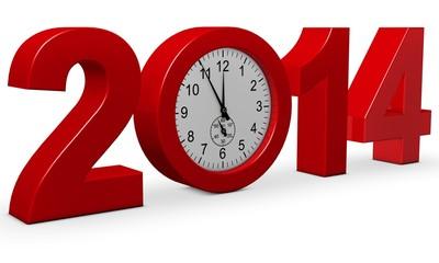 2014 mit Uhr