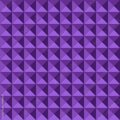 Seamless geometric embossed pattern