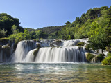 Waterfalls in Krka National Park
