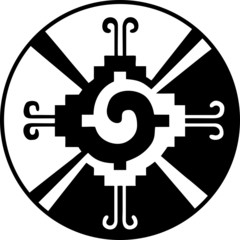 Hunab-Ku / Maya Symbol für Gott