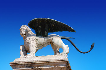 Lion of St. Marco - Marostica Italy
