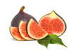 Fresh bright figs