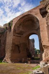 Terme di Caracalla Swimming pools ruins vertical - Roma - Italy