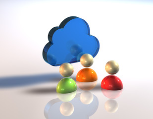 Cloud Chat Puppe 3er