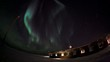 Aurora Borealis and Polar Station