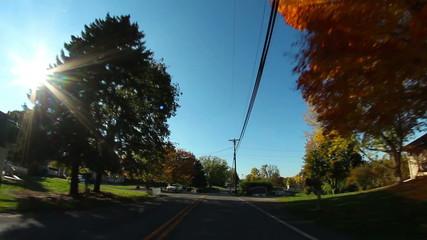 Pennsylvania Backroads Driving POV