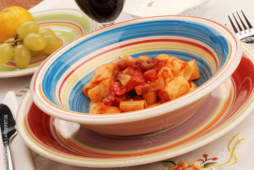 MEZZEMANICHE ALL' AMATRICIANA