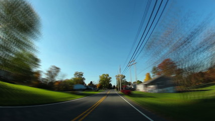 Pennsylvania Backroads Driving POV Timelapse
