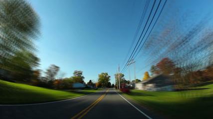 Pennsylvania Backroads Driving POV Timelapse