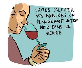 sentir le vin