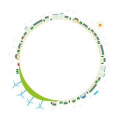再生可能エネルギーと地球