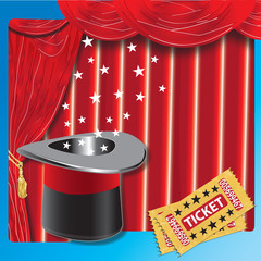 Magic Show Illustration