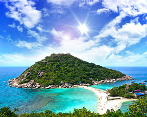 Tropical sea: Thailand Ko Tao