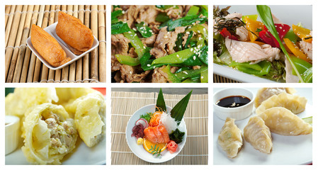 Food set  chinese cuisine