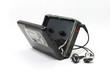 Vintage audiotape walkman