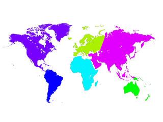 World Map, World background
