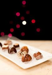 Chocolates on Display