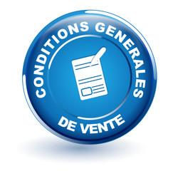 conditons générales de vente sur bouton bleu