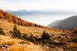 Alpi Retiche - paesaggio autunnale
