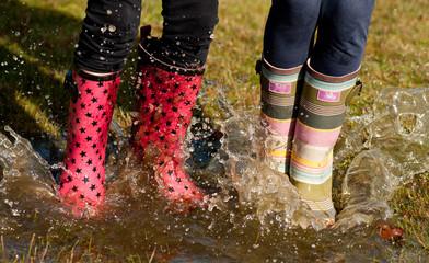 wet wellies puddle jumping children FX28801