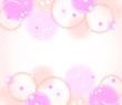 グラフィック 背景 ピンク