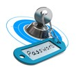 concept for internet security, password protection