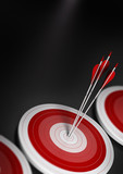 Target market, strategic marketing, business conceptcept.