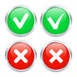Checkbox buttons. Vector illustration