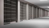 Fototapety Prison interior