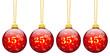 Weihnachtskugeln, Rabatt, 15, 25, 35, 45, Prozent, %, Angebot