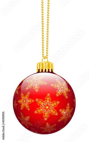 Weihnachtskugel, Christbaumschmuck, Dekoration, Weihnachten, 3D