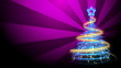 Christmas Tree Background - Merry Christmas 73 (HD)